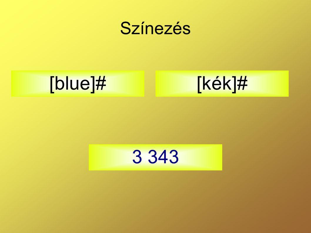 Színezés [kék]# 3 343 [blue]#