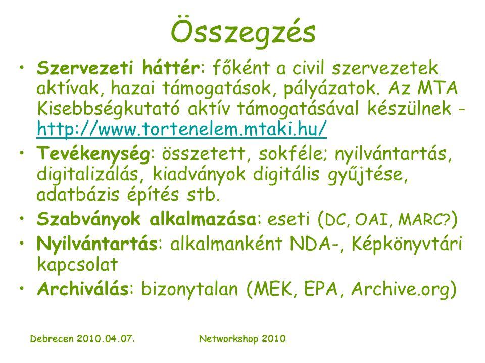 Debrecen 2010.04.07.