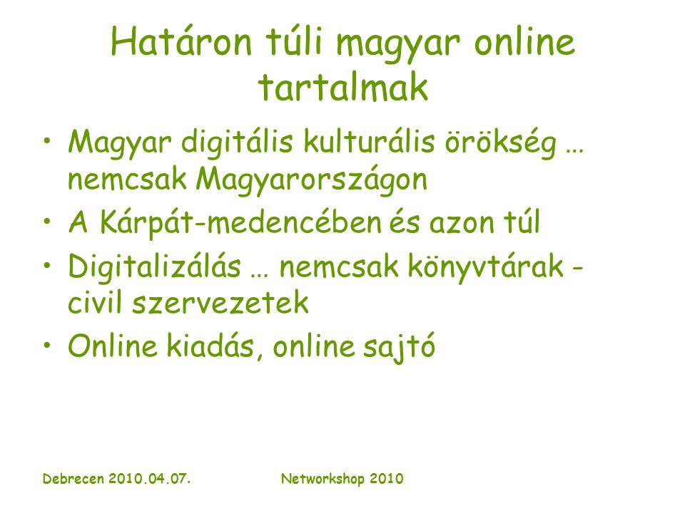 Debrecen 2010.04.07.Networkshop 2010 Románia, Erdély I.