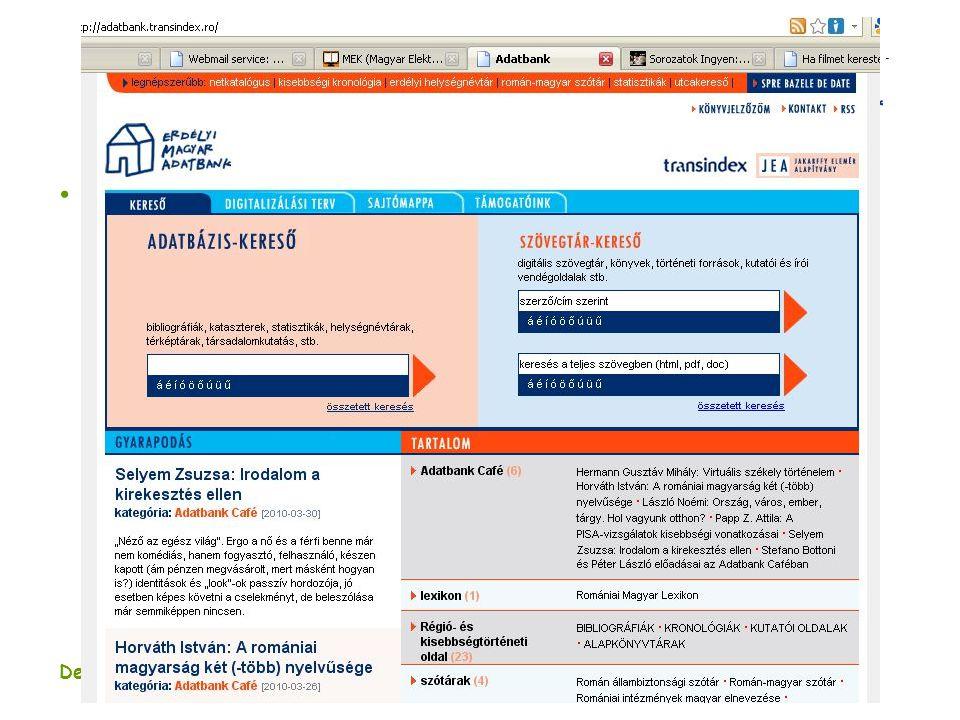 Debrecen 2010.04.07.Networkshop 2010 Románia, Erdély II.