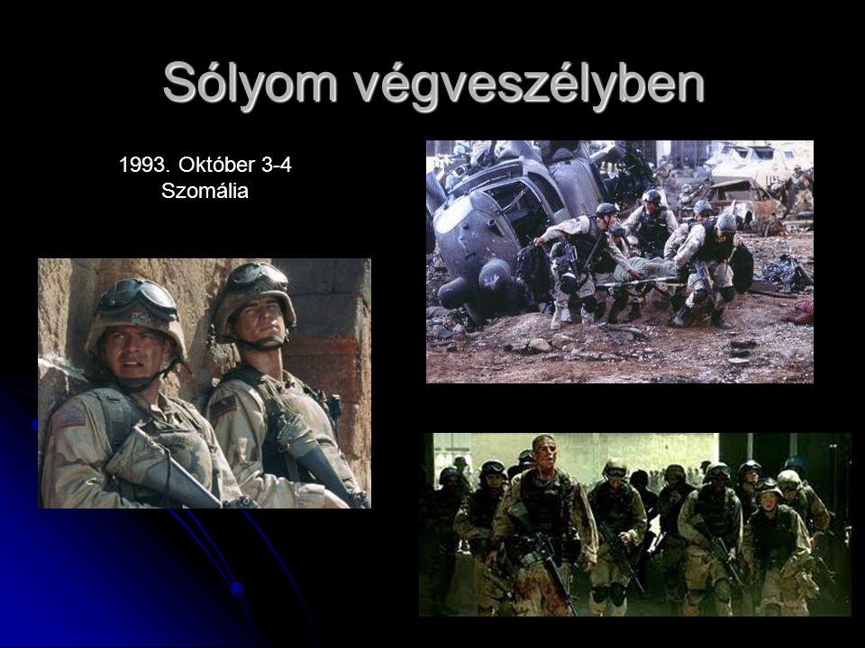 Sólyom végveszélyben 1993. Október 3-4 Szomália