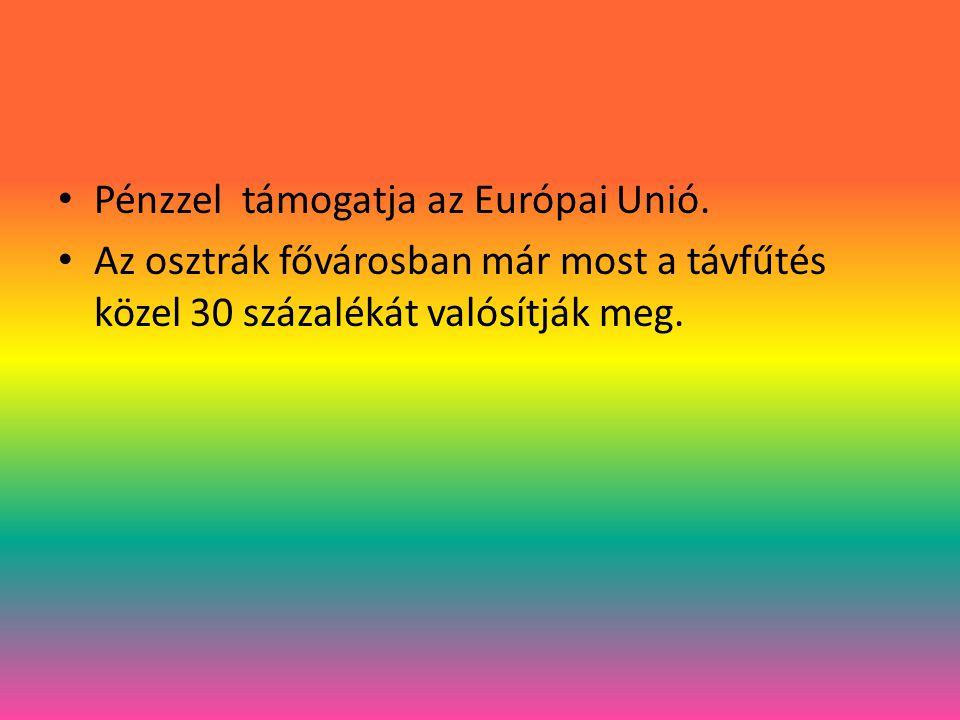 Pénzzel támogatja az Európai Unió.