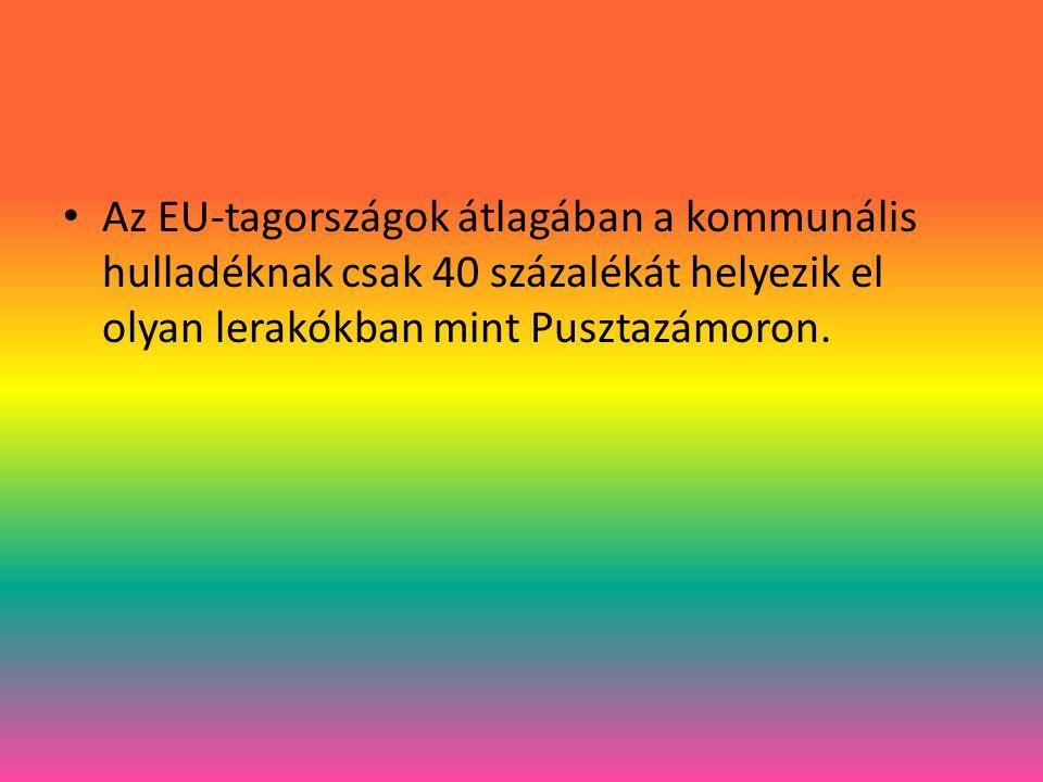 Az energiatermelő hulladéktüzelés polgárjogot nyert az EU-ban.