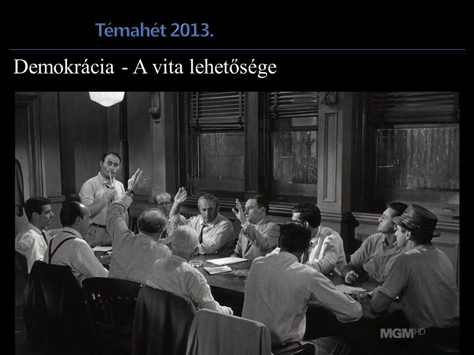 Demokrácia - A vita lehetősége 1957