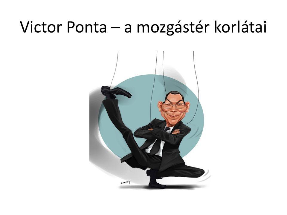 Victor Ponta – a mozgástér korlátai