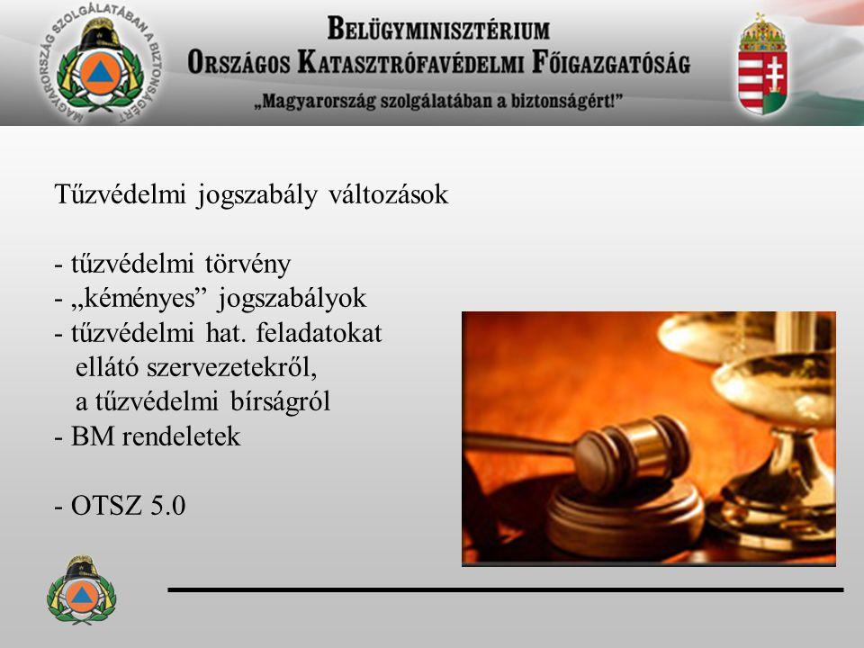 - az építményszerkezetek tűzvédelmi követelményeknek való megfelelőség igazolásáról (55/2013.