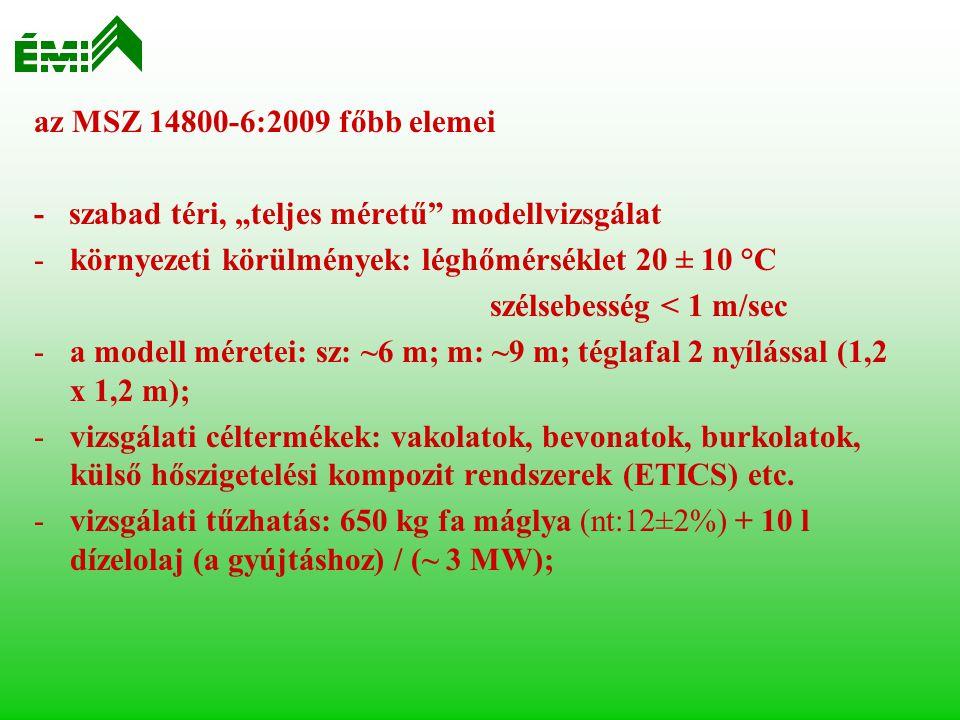 Vizsgálóberendezés (3-szintes vasbeton modellépület)