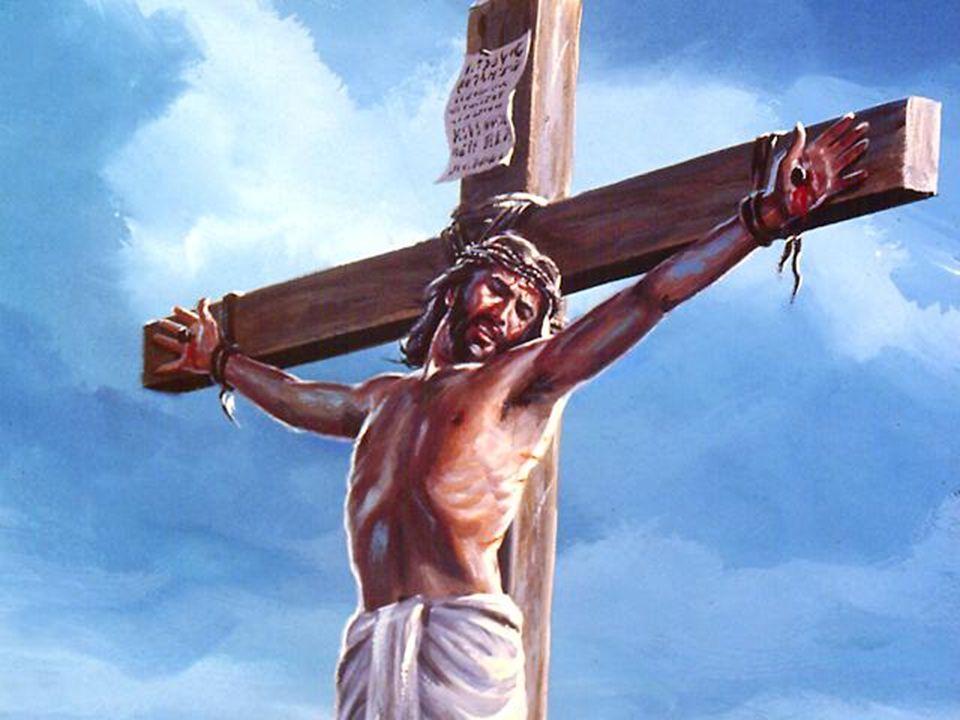 A los 33 años Jesús fue condenado a muerte. Jézust 33 éves korában halálra ítélték Tudjátok, hogy két nap múlva a húsvétnak ünnepe lészen, és az ember