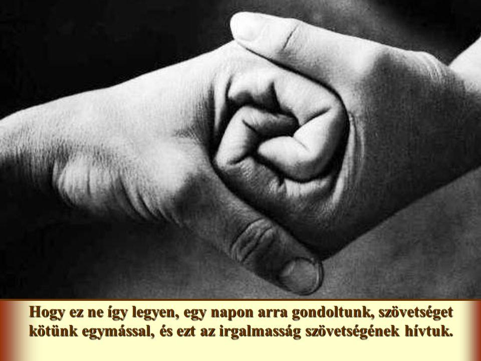 Különösen kezdetben nem volt mindig könnyű radikálisan élni a szeretetet. Megesett, hogy kapcsolatainkat belepte a por, és alábbhagyott az egység. Ez