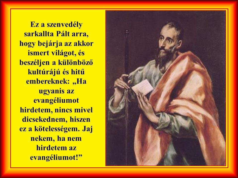 """Jézus utolsó szavai így szóltak: """"Menjetek el az egész világra és hirdessétek az evangéliumot…"""""""