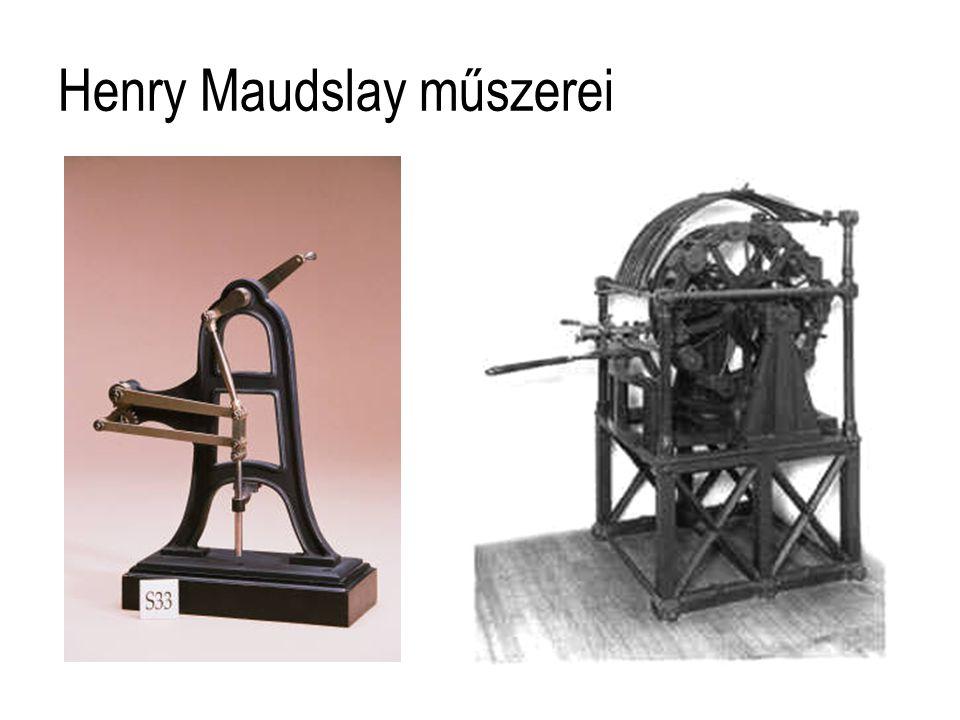 Henry Maudslay műszerei