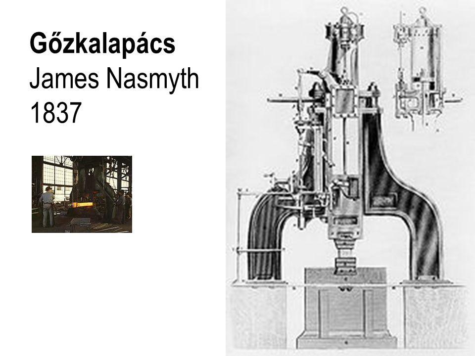 Gőzkalapács James Nasmyth 1837