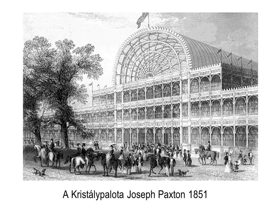 A Kristálypalota Joseph Paxton 1851