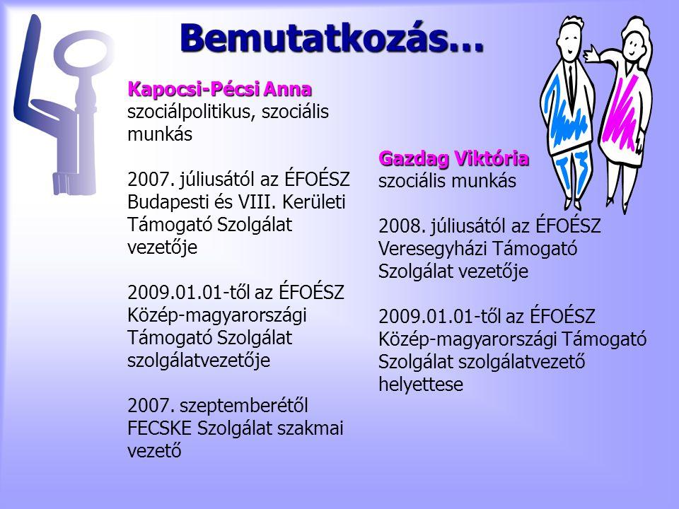Kapocsi-Pécsi Anna szociálpolitikus, szociális munkás 2007.