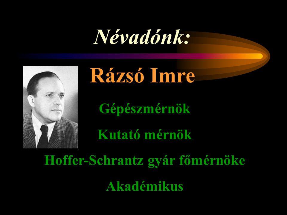 Rázsó Imre Szakközépiskola, Szakiskola és Kollégium KÖRMEND