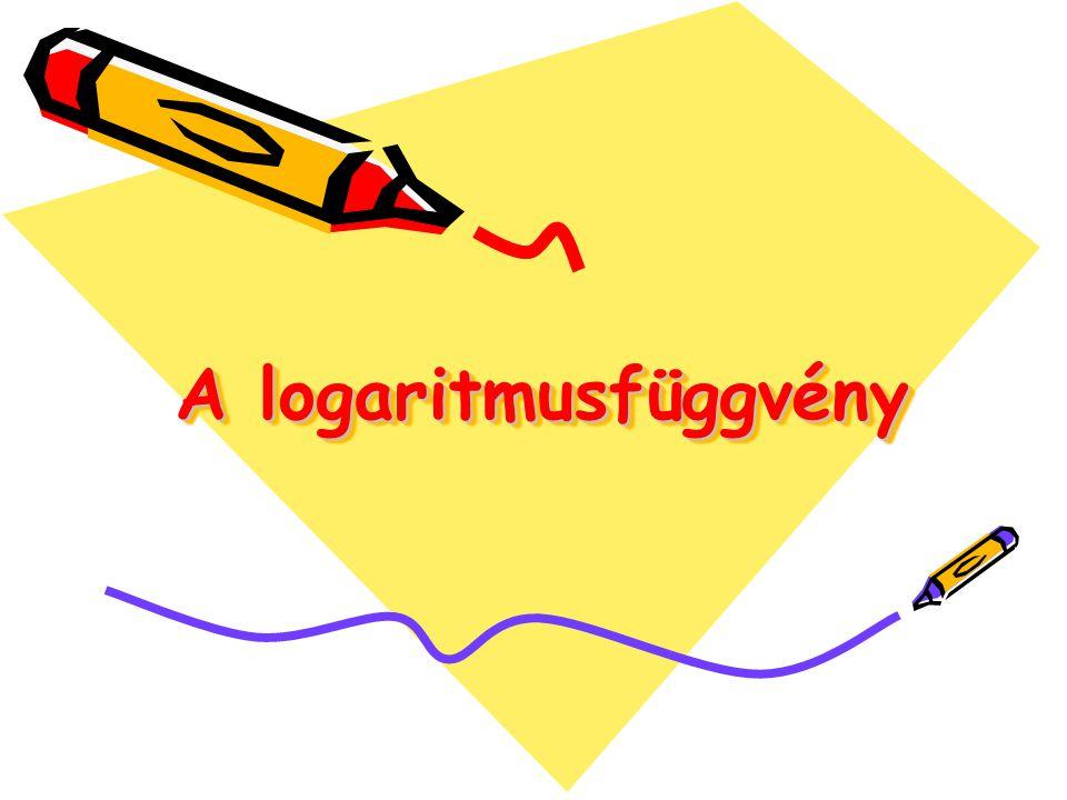 A logaritmusfüggvény