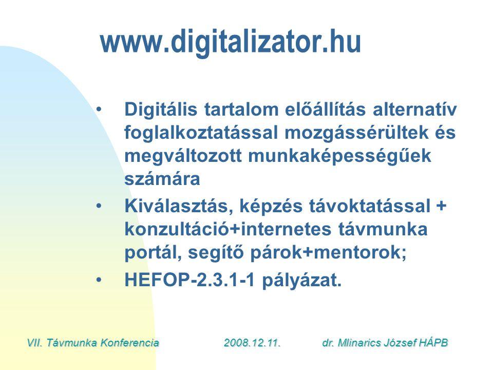 VII. Távmunka Konferencia2008.12.11.dr.