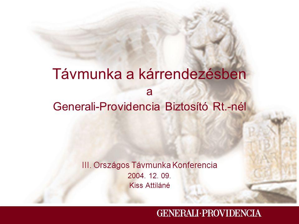 A 15 éves Generali-Providencia Biztosító Rt.