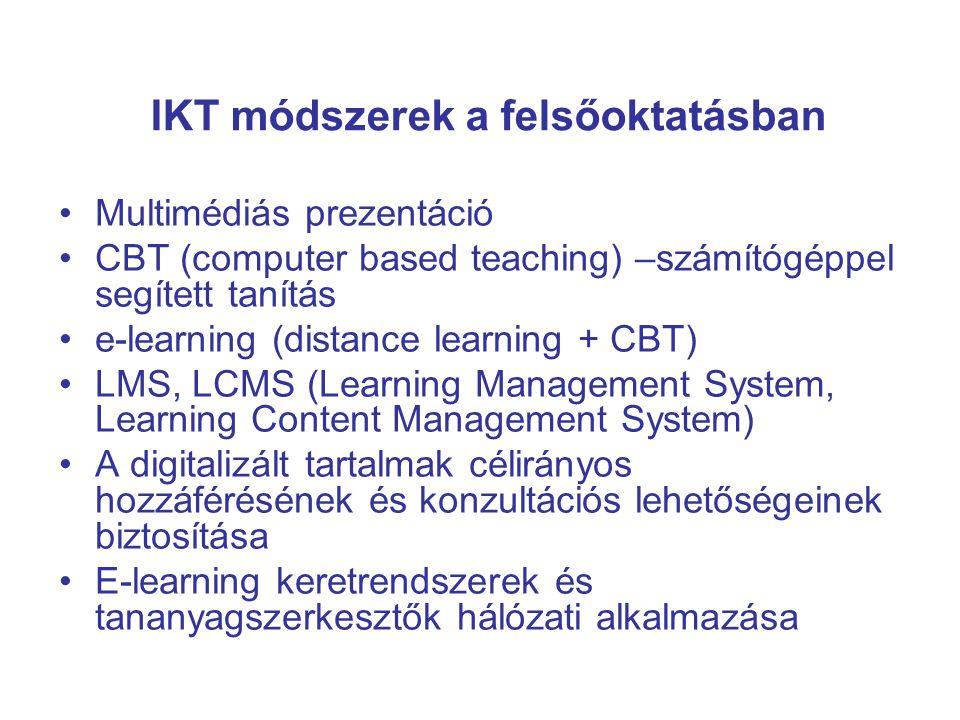 Az e-tanulás: számítógépes hálózaton elérhető nyitott képzési kurzus amely megvalósítja a képzés szervezését, a tutor-tanuló kommunikációt, valamint interaktív oktatószoftvert biztosít a hallgatóknak