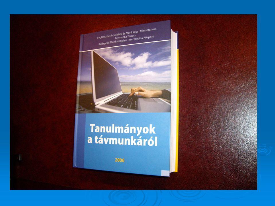 Az SZMM Távmunka Tanács 2007.évi fejlesztési céljai 1.