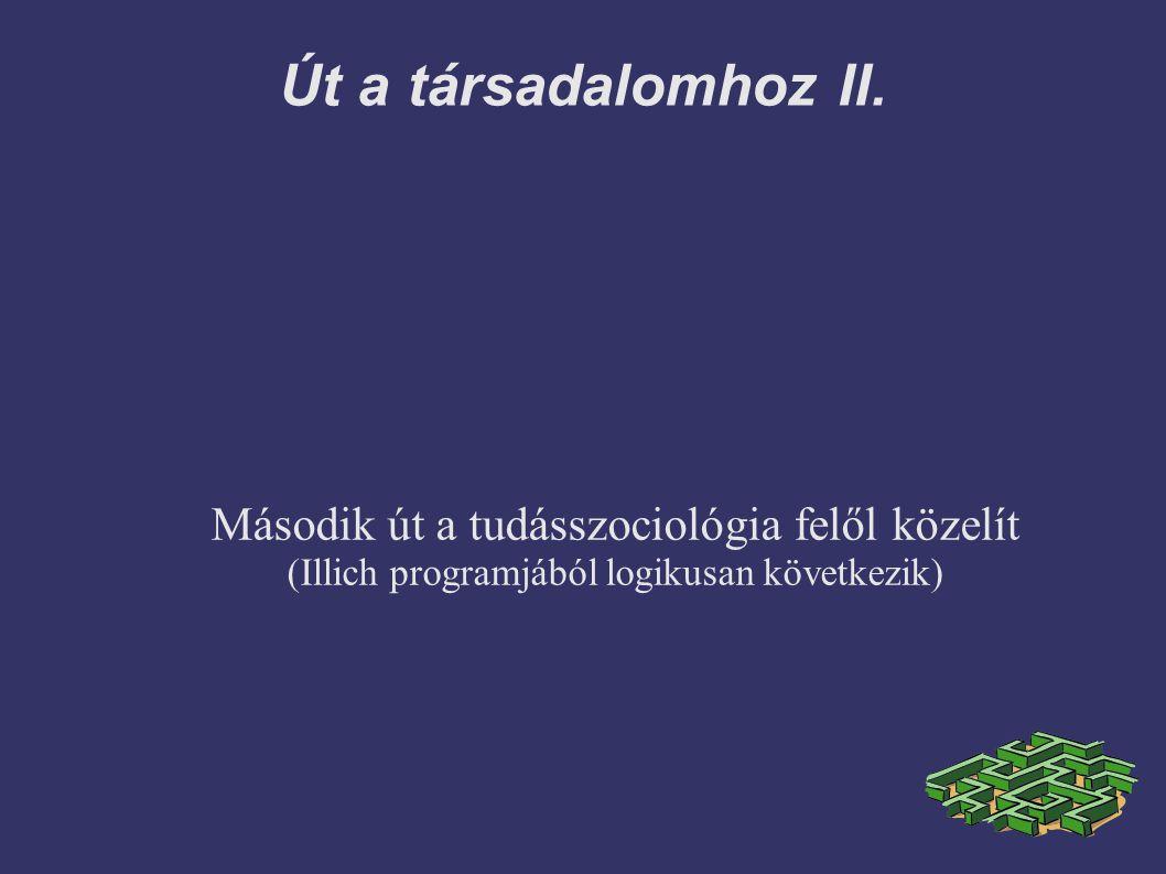 Út a társadalomhoz II.