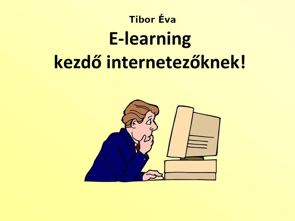 Tibor Éva E-learning kezdő internetezőknek!