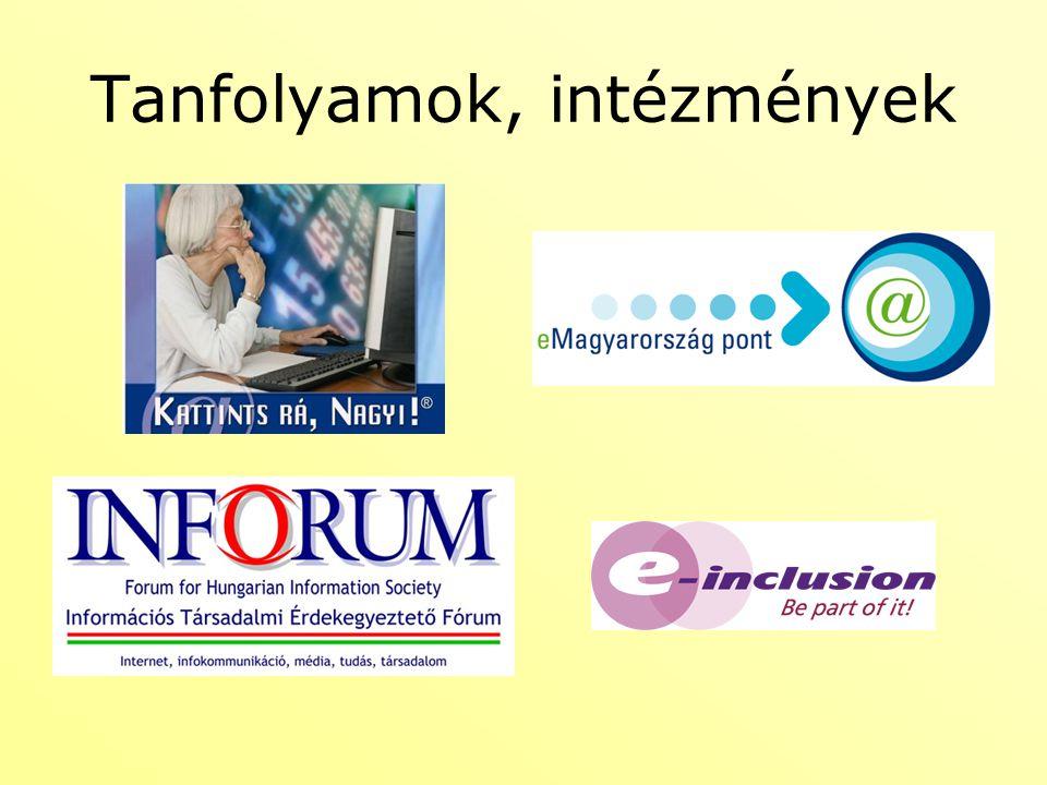 További tervek További, haladó tananyagok Moodleban Minél több érdeklődőt bevonni és létrehozni egy internetes fórumot, facebook csoportot, ahol segítséget kérhetnek és kaphatnak.