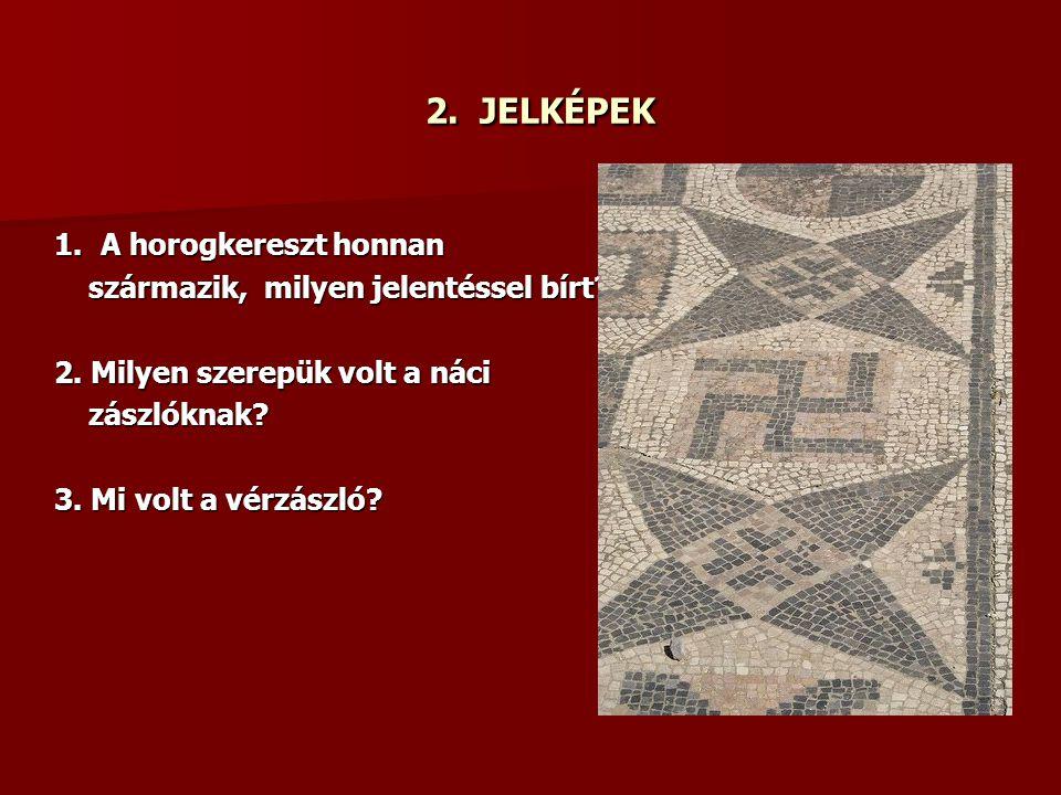 3.A HATALOM MEGRAGADÁSA 1. Mi volt a szerepük a Hitler mellett működő kancelláriáknak.