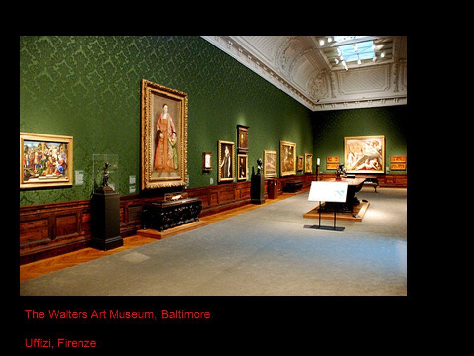 The Walters Art Museum, Baltimore Uffizi, Firenze