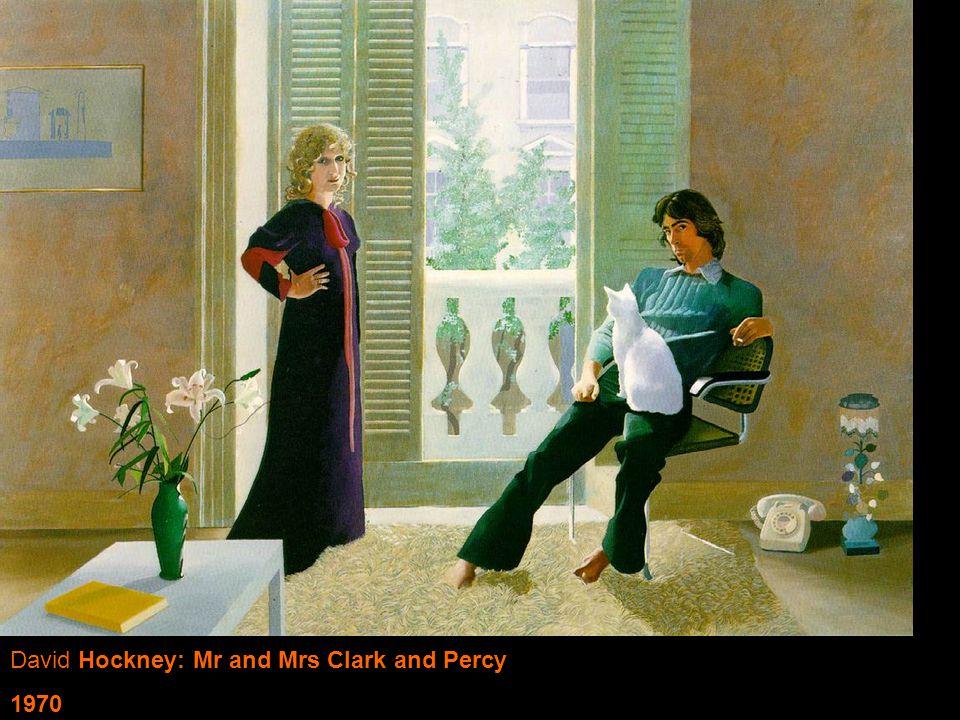 David Hockney: Mr and Mrs Clark and Percy 1970