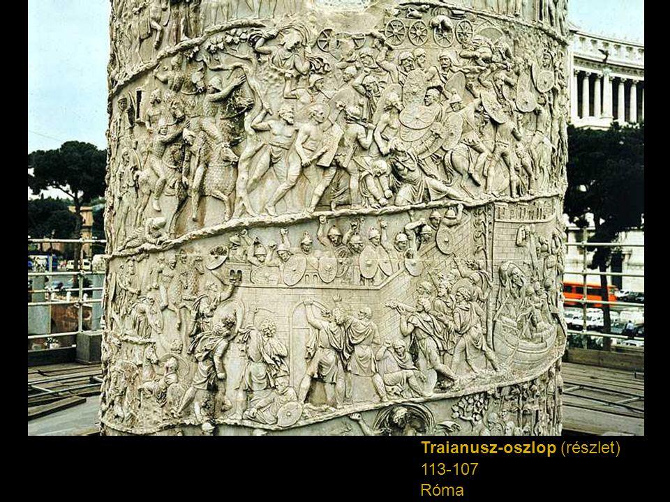 Traianusz-oszlop (részlet) 113-107 Róma