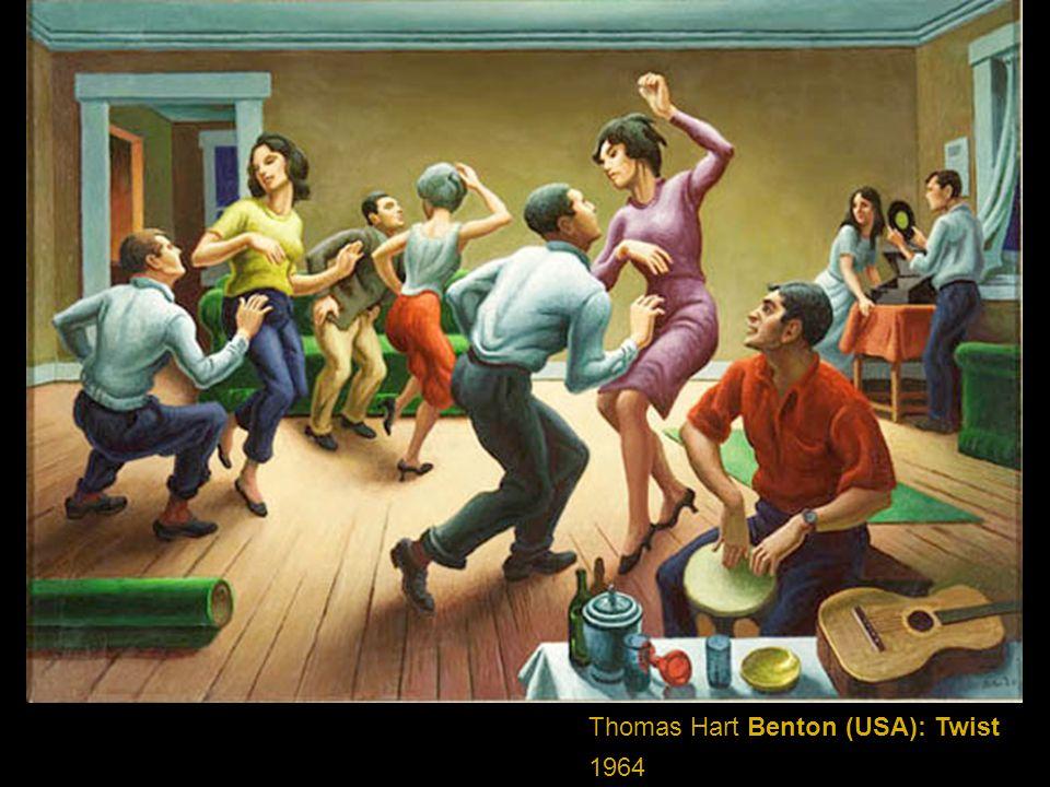 Thomas Hart Benton (USA): Twist 1964
