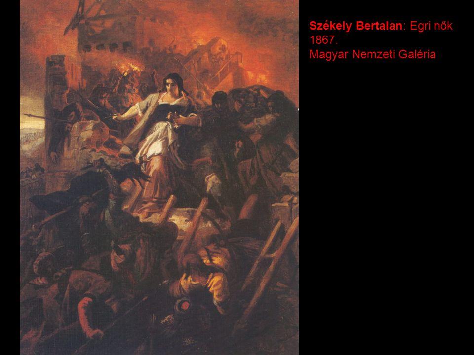 Székely Bertalan: Egri nők 1867. Magyar Nemzeti Galéria