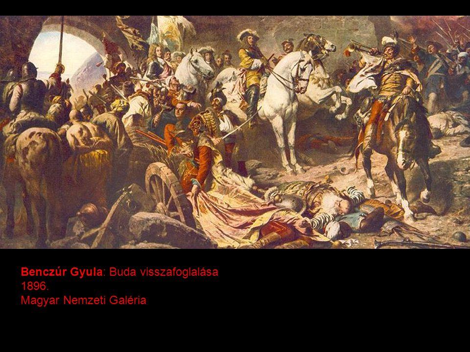 Benczúr Gyula: Buda visszafoglalása 1896. Magyar Nemzeti Galéria
