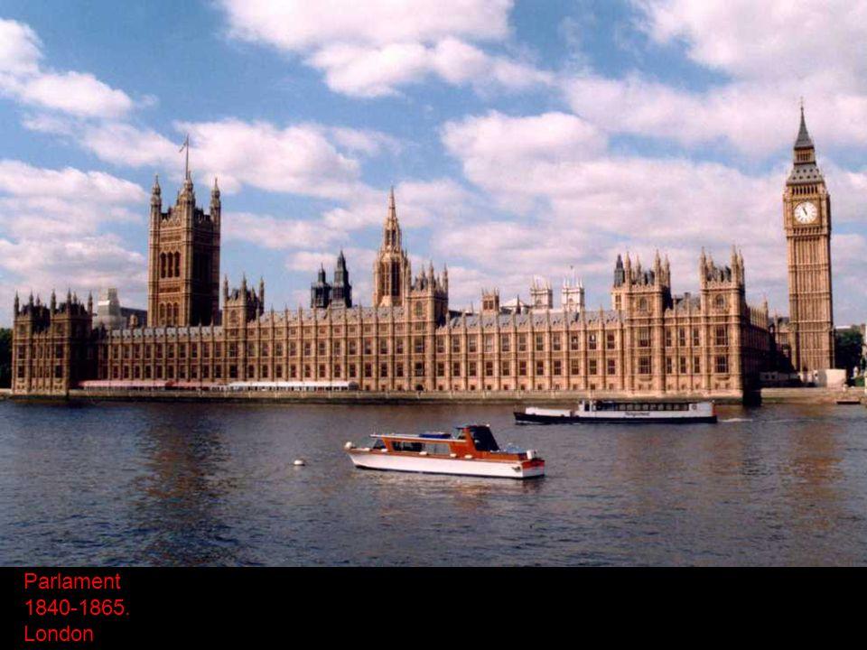 Parlament 1840-1865. London
