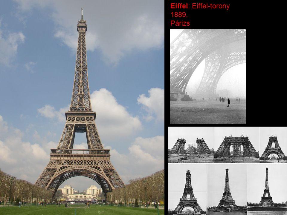 Eiffel: Eiffel-torony 1889. Párizs