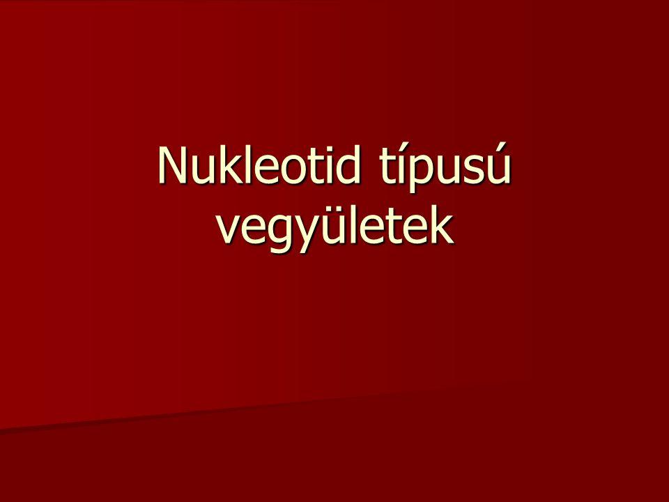 Nukleotid típusú vegyületek