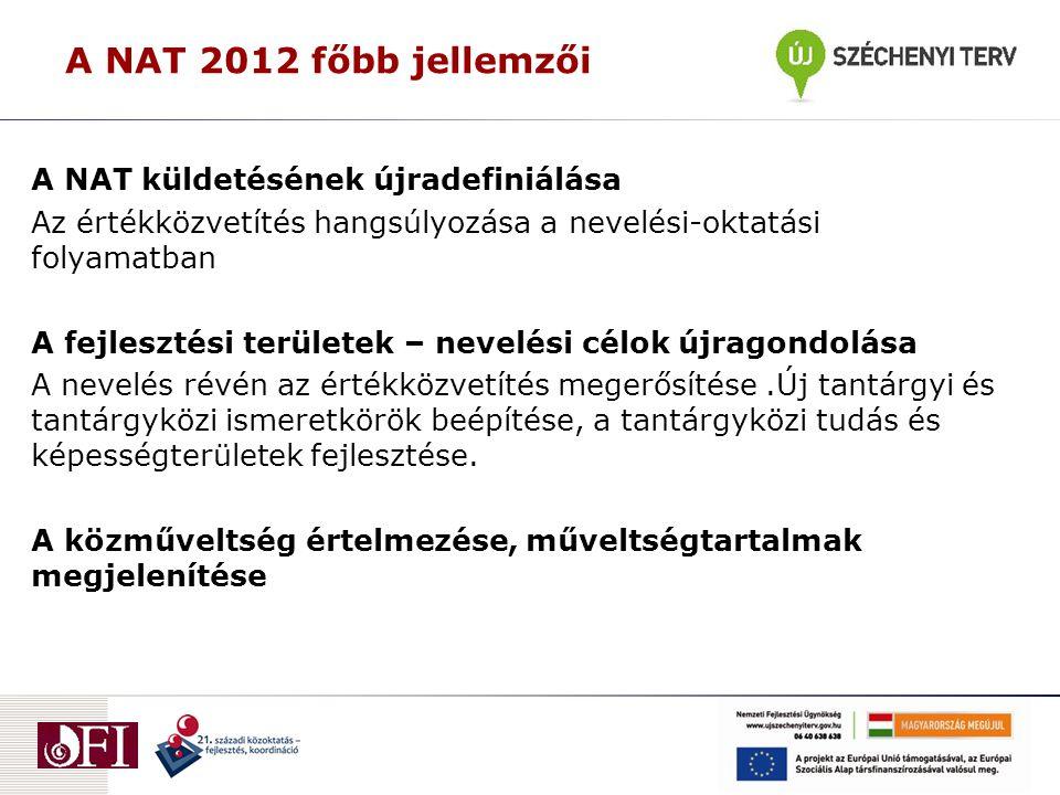 Az iskolák körvonalazódó feladatai (2012/13-as tanév)  A kerettanterv adaptációja 2012.