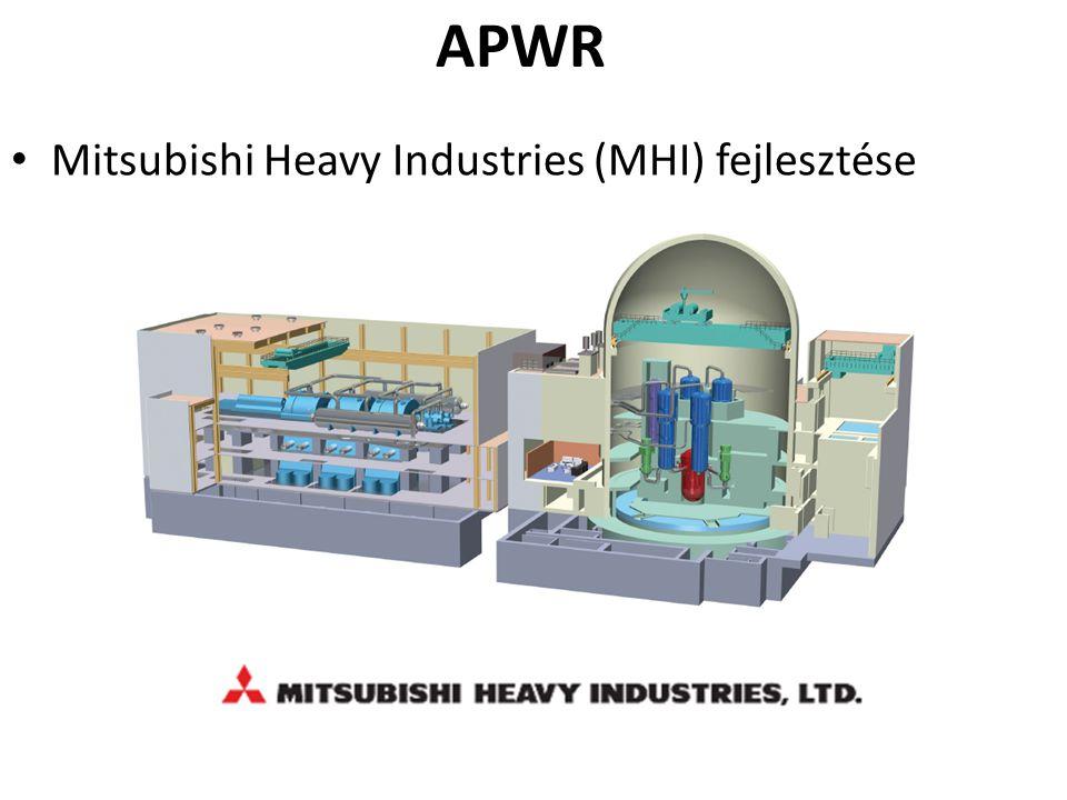 Mitsubishi Heavy Industries (MHI) fejlesztése APWR