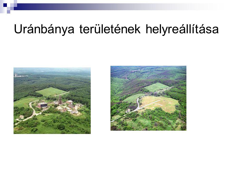 Uránbánya területének helyreállítása