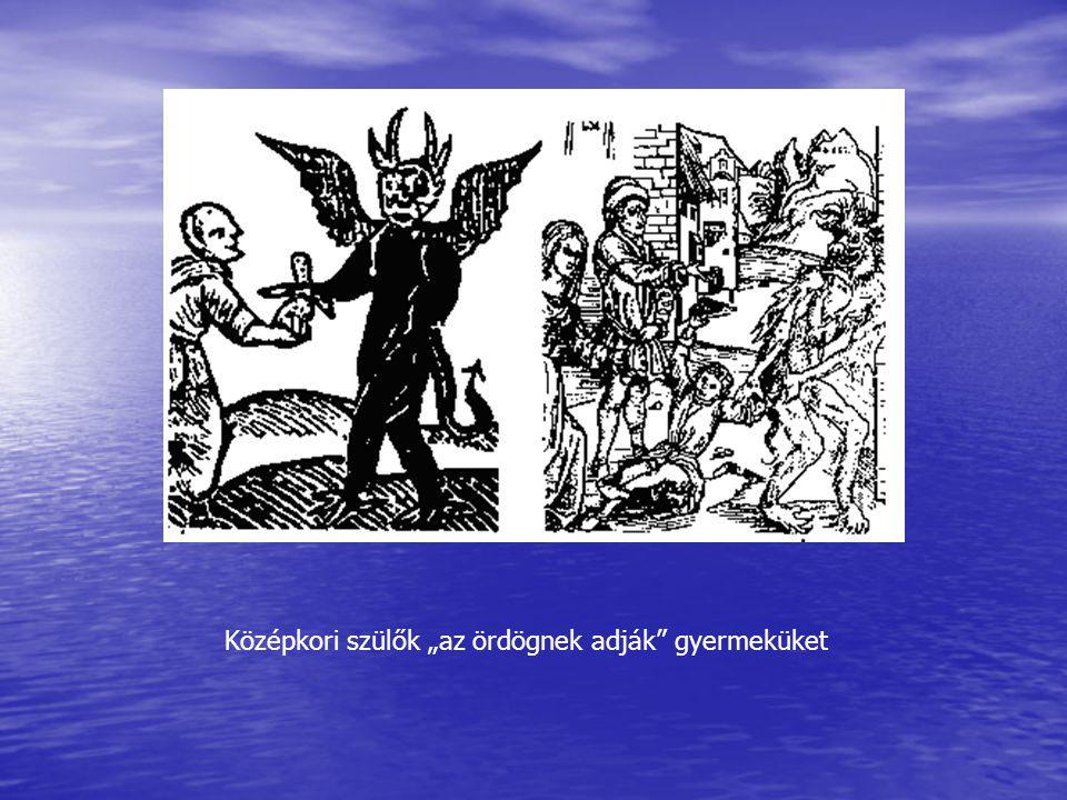 """Középkori szülők """"az ördögnek adják"""" gyermeküket"""