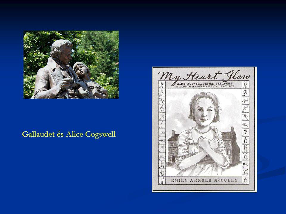 Gallaudet és Alice Cogswell
