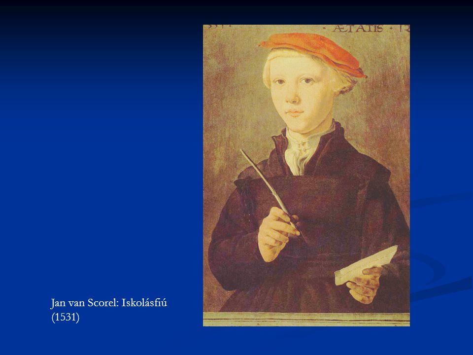 Jan van Scorel: Iskolásfiú (1531)