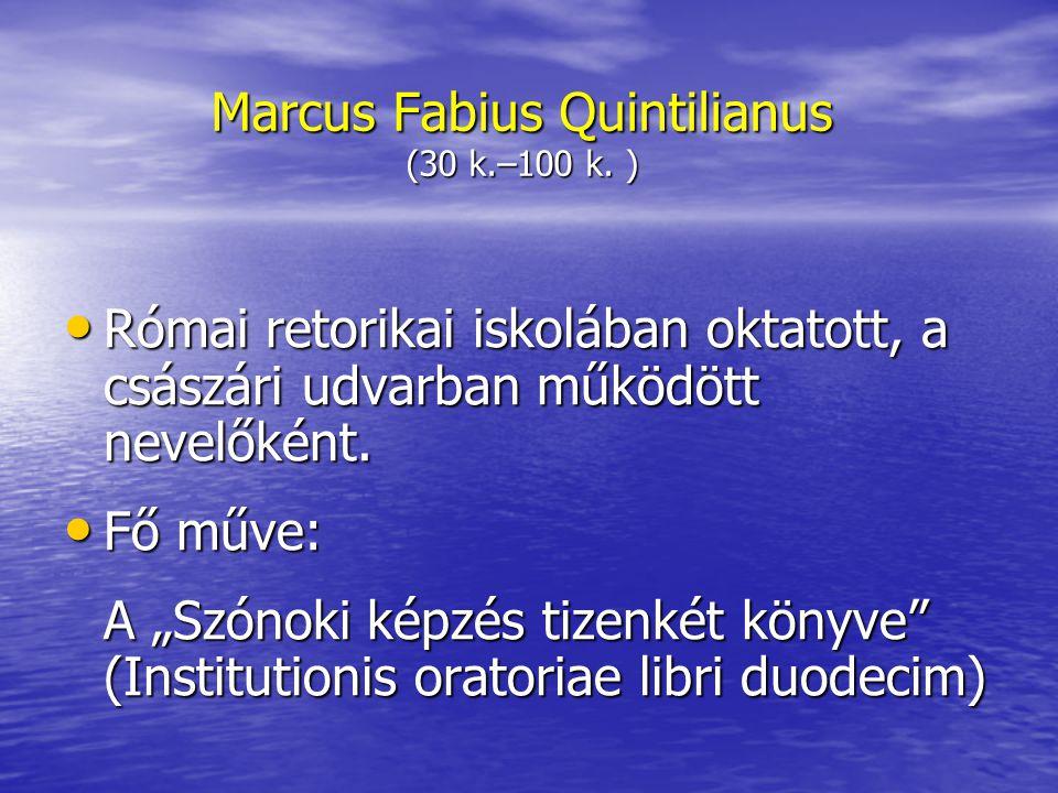 Marcus Fabius Quintilianus (30 k.–100 k.
