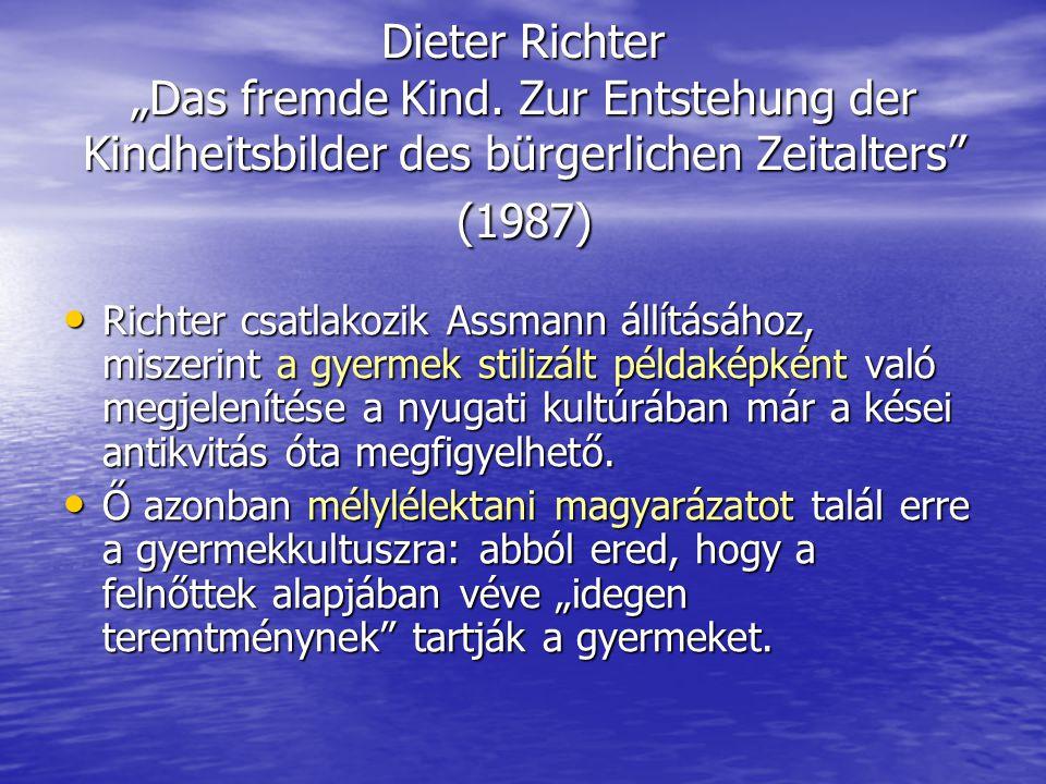 """Dieter Richter """"Das fremde Kind."""
