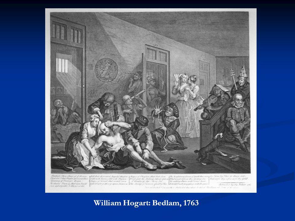 William Hogart: Bedlam, 1763