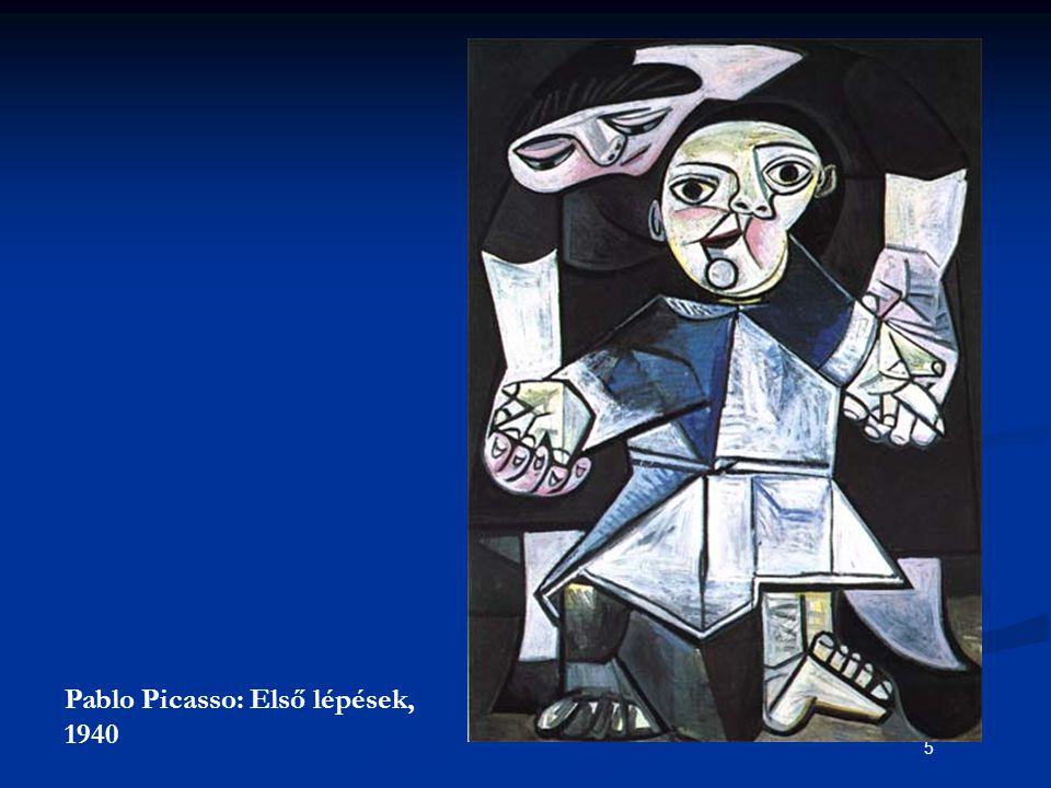 5 Pablo Picasso: Első lépések, 1940