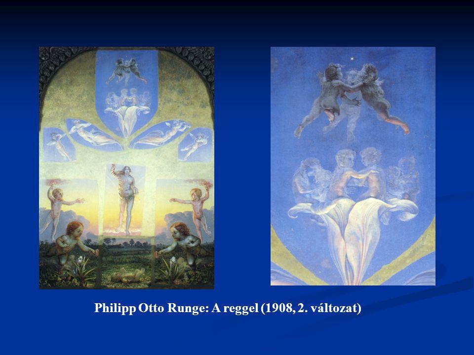 Philipp Otto Runge: A reggel (1908, 2. változat)