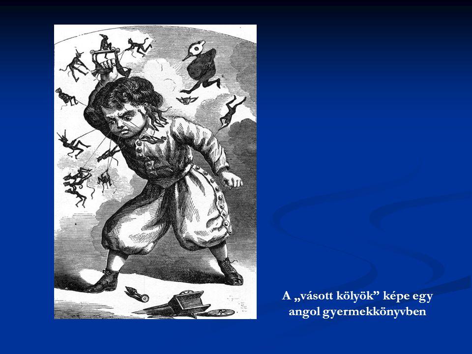 """A """"vásott kölyök"""" képe egy angol gyermekkönyvben"""