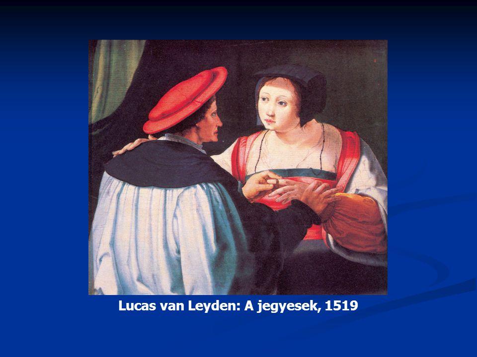 Lucas van Leyden: A jegyesek, 1519